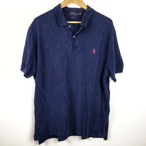 Polo by Ralph Lauren | Navy Blue Mens Casual Polo